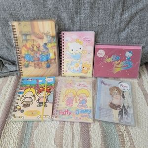 Small Character Notebooks (incl. Official Sanrio)